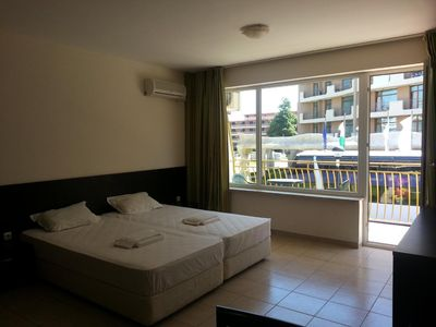 Photo for Holiday apartment Sunny Beach for 1 - 4 persons - Apartment in a holiday resort
