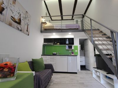 Photo for Urban Apartments Pula / Soho urban cosy duplex next to the Giardini square in the center of Pula