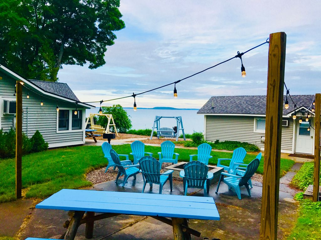 the margies rental city just traverse feet shore relax from fifty michigan vacation in resort slider cabins