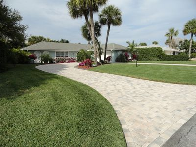 Photo for Relax on Orchid Islands Private Beach Steps Away From Your Heated Pool Home