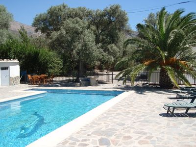 Photo for Holiday home with private pool in fantastic setting
