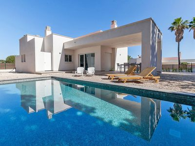 Photo for Beautiful private villa with private pool, WIFI, A/C, TV, balcony, pets allowed and parking