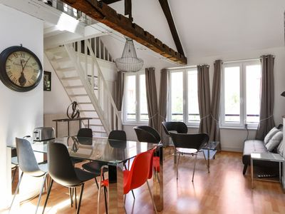 Photo for Charming two-bedroom with mezzanine in the heart of Old Lille - Welkeys