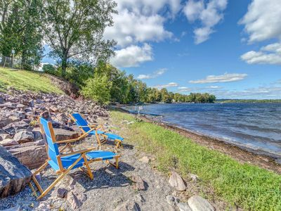 Photo for Lakefront property with easy dock access, incredible views & private hot tub