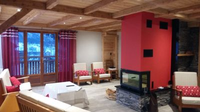 Photo for chalet L'Aigliere, 11 rooms each equipped with their bathroom and toilet,