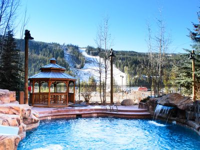 Photo for Near Gondola, Slope Views, 2 Masters, Extra Bathroom, Awesome Hot Tub & Pool