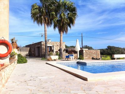 Photo for Small casita on the property of an original Mallorcan finca with