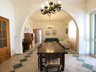 Photo for Comfortable and spacious detached villa in Torre San Giovanni in a quiet area.