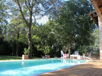 Photo for Villa with pool, large garden, close to Montpellier and beaches