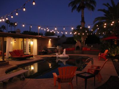 Photo for Resort Style Retreat with Pool and Jacuzzi - 5 miles from Waste Management Open