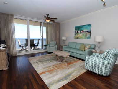 Photo for Indigo East 1504 - Beach Front Unit with Luxurious Interior and Amenities!