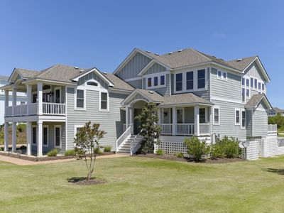 Photo for Golf Front, Premium built with pool, hot tub, gameroom, theater room. Pet friendly