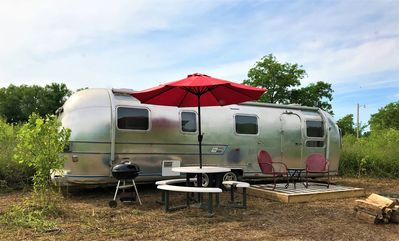 Photo for Glamping St. Louis -  Dreamy Airstream -The Sovereign