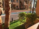 Terrace with view over the pool & landscaped gardens with sea view @Nueva Ribera
