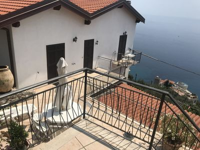 Photo for Adorable 2 BR with big terrace and creat panoramic sea view