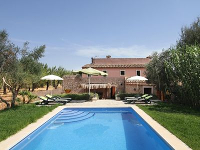 Photo for Super traditional Mallorcan country house on the outskirts of Buger