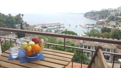 Photo for Sea-view flat in lovely old town