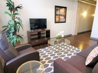 Photo for Big Comfy Apartment in Downtown Dallas (RS614)