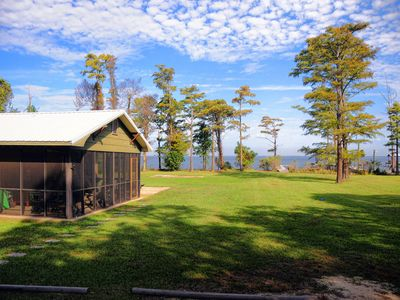 Photo for Beautiful & Relaxing - Waterfront Cottage 6 Mi. from Gulf Shores - Fort Morgan