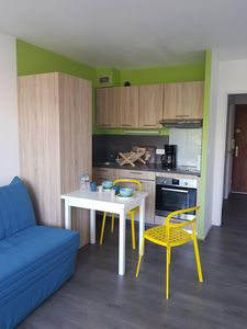 Photo for Nice studio.  Beautiful location. Near sea Private parking. Swimming pool. Tennis