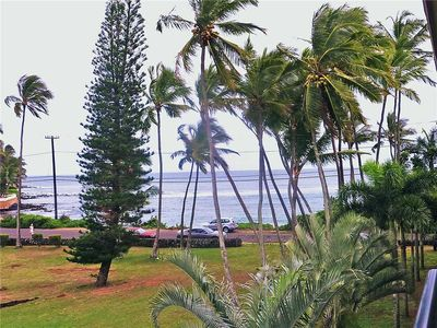 Photo for Prince Kuhio, Sunny South Shore Condo is steps away from the beach
