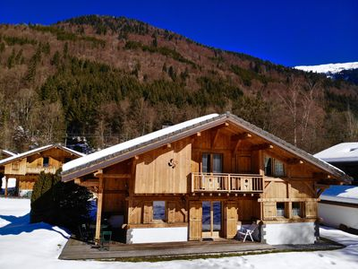 Photo for exceptional chalet 3 * the pétets