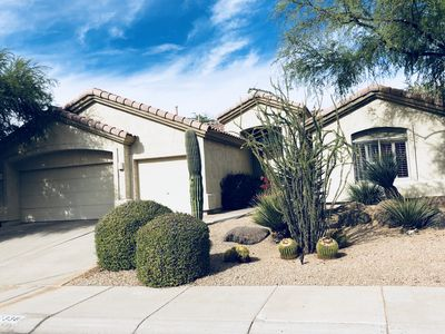 Photo for Single Family Home with Private Pool & 3 Car Garage in North Scottsdale/Grayhawk