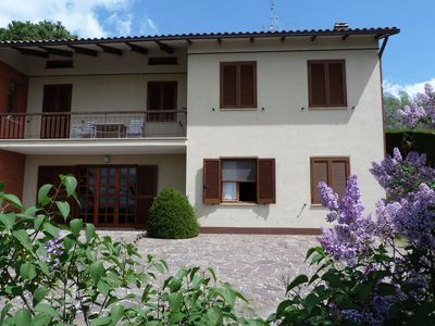 Photo for Detached villa with lake view, private garden and terrace