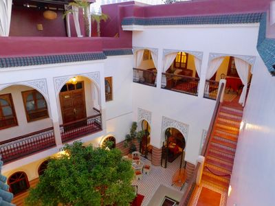 Photo for Beautiful riad exclusively in Marrakech