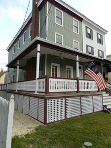 Photo for 2019 Look at our UPGRADES this Winter.  One block from the beach