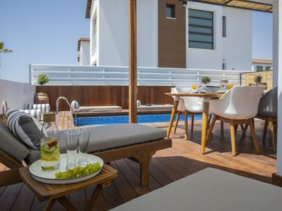 Photo for Imagine You and Your Family Renting this Perfect Villa close to the beach, Villa Paralimni 1016