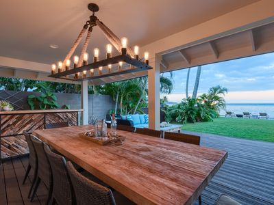 Photo for Moana Lani - Stunning 5br Oceanfront Home, with private pool, jacuzzi, workout area and much more!