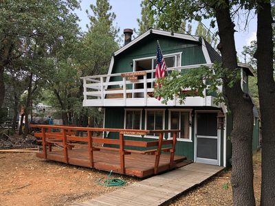 Photo for The Wolf Den: 2 BR / 2 BA home in Big Bear Lake, Sleeps 7