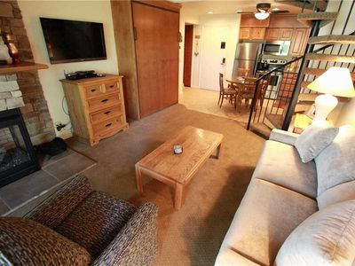 Photo for Snow Flower Condo #31, Studio/loft, 2 bath, sleeps 6, SKI-IN/SKI-OUT to Park City Mountain Resort