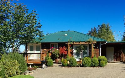 Photo for Mt. Pleasant Garden View Ranch Cottage with Panoramic Saltwater Views of BC