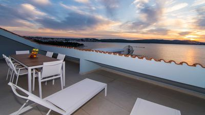 Photo for Luxurious 5 star seaview apartment Blue Sky  EOS-CROATIA