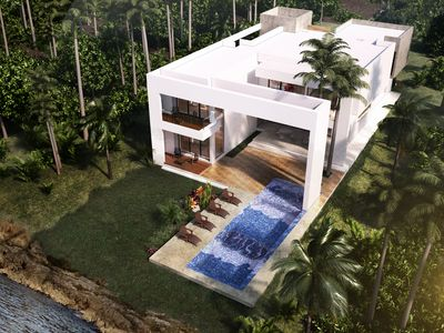 Photo for Brand New Oceanfront Modern Retreat 50 feet infinity pool