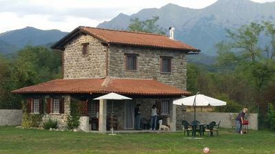Photo for Independent villa, Mulazzo, Cinque Terre, Versilia, Lunigiana, in the countryside