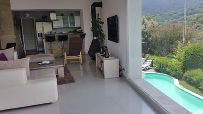 Photo for Villa with pool 8 pers view lake and Esterel