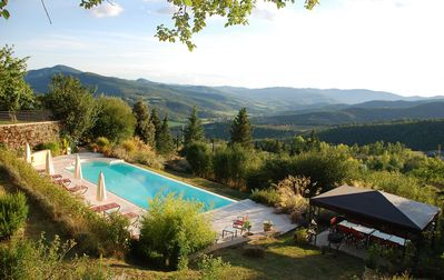 Photo for Il Casale: Luxury Villa With Stunning Views Over The Niccone Valley