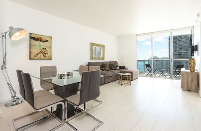 Brickell Waterfront Luxury 2 Bedrooms with BayView