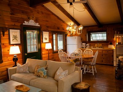 Photo for Charming, Eco-Friendly Cabin Retreat, Heart of Deep Creek