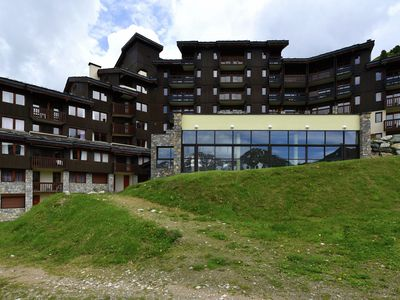 Photo for Comfortable residence with spa on the slopes in family-friendly Belle Plagne