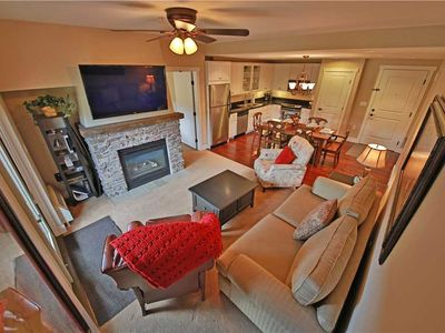 Photo for Amazing ski-in/ski-out condo with slope-side views and indoor parking