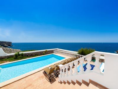 Photo for VILLA ES MACAR - Exceptional sea views next to the beach