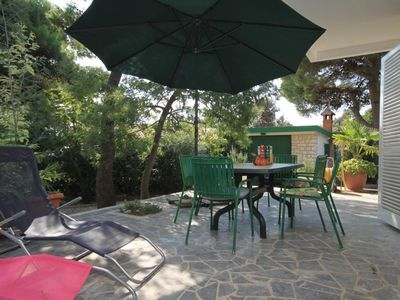 Photo for Two bedroom apartment with terrace Rovinj (A-7504-a)