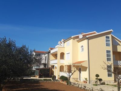 Photo for Two bedroom apartment with terrace Vrsi - Mulo (Zadar)