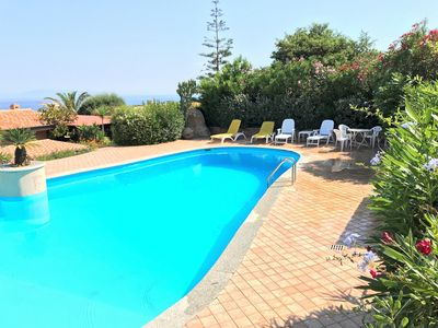 Photo for Villa Paola, sea view, large pool