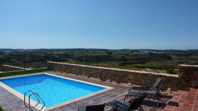 Photo for Luxury villa with stunning views in a village Near Obidos, Silvercoast, Portugal