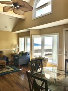 Photo for 2 Bedroom Beachfront Condo with Private Deck